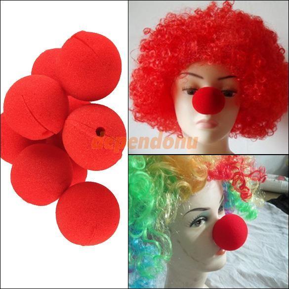 Клоунские носы своими руками 78