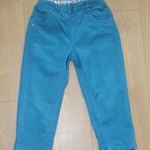 Вильветовые джинсики chicco, р. 92