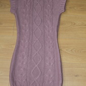 Теплое платье, размер S,сост.идеальное.