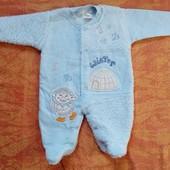 Теплый человечек на малыша 3-6 месяцев