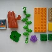 Аналог Лего Дупло Lego Duplo- конструктор  для детей от 2-х лет . Лот - всё, что на фото