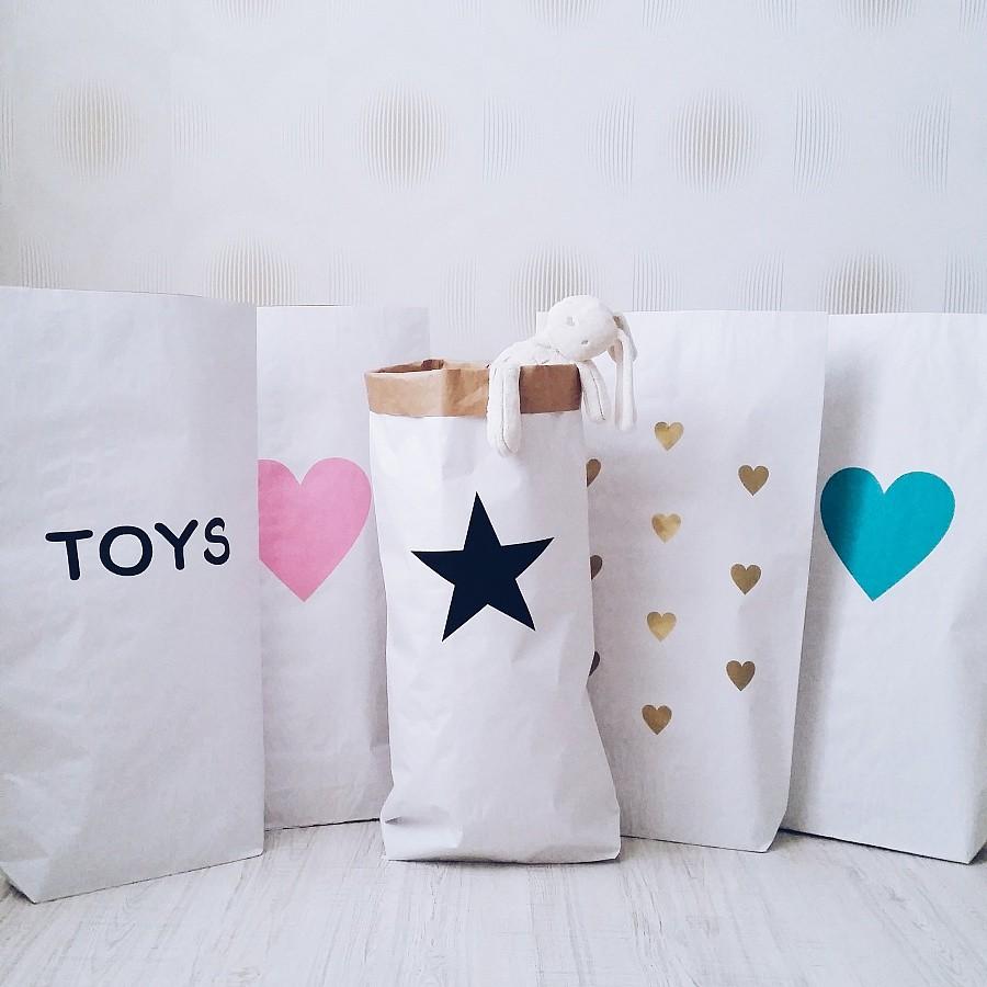 Сделать мешок для игрушек