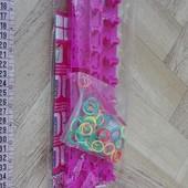 Новый набор для плетения резиночками.
