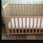 Детская кроватка ТМ Верес с матрасиком