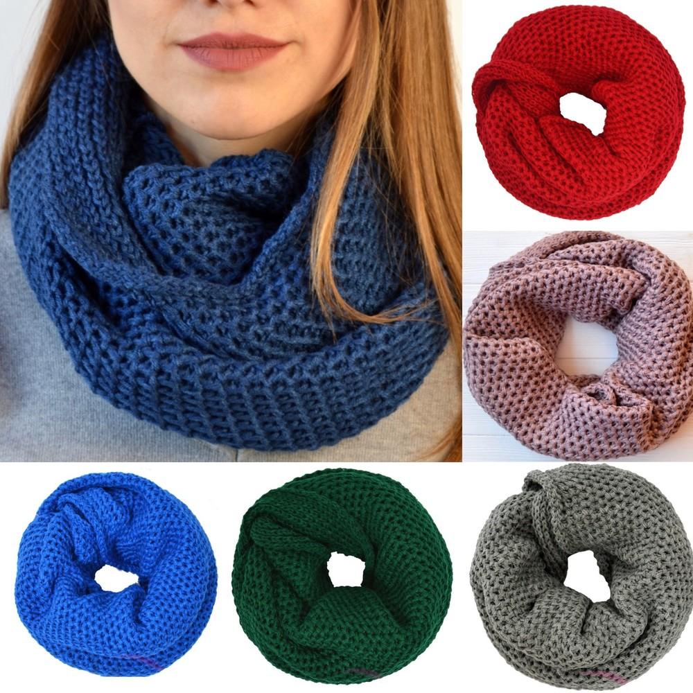 Как сшит шарф хомут
