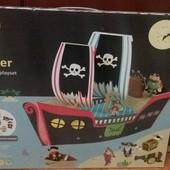 Большой 3д пиратский корабль