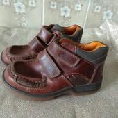 Кожаные ботинки Clarks 17 см