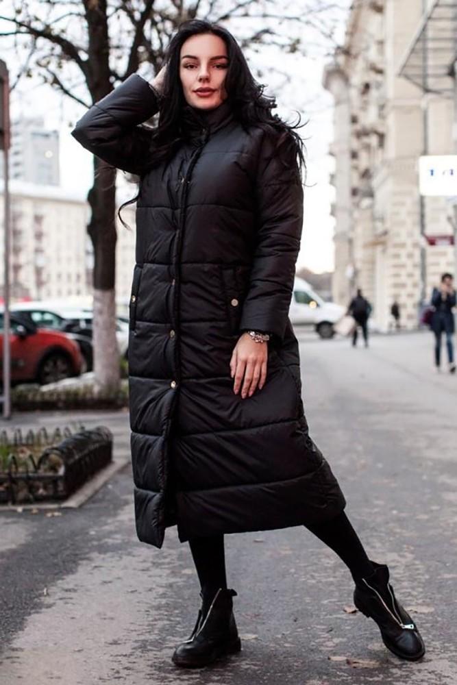 пальто пуховики ниже колена как носить фото правильно пишется