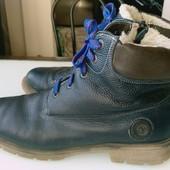 Зимние ботинки кожа 41-42 размер, 26,5-27 см стелька