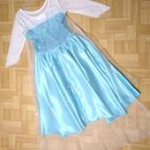 """Платье Эльзы """"Холодное сердце"""" на девочку 3-4 лет, смотрите замеры"""
