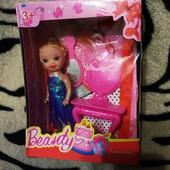 Кукла Beuty c аксессуарами дочка Барби