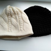 2 шапочки одним лотом!