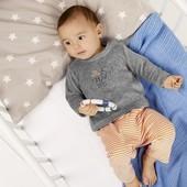 Велюровый костюмчик для мальчика Lupilu размер 50-56