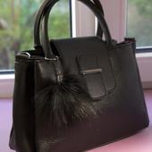 Очень красивая стильная сумочка. Турция. В лоте черная