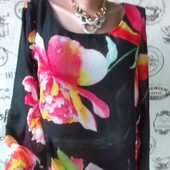 Блузка с цветами! Скоро 8 Марта!