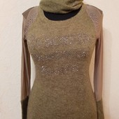 Распродажа.Шикарный кашемировый тепленькие свитерок 44-46.Отличного качества.Турция.Последние