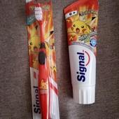 Детская зубная паста и зубная щётка Signal из Германии оригинал
