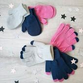 Варежки Tu или  перчаточки , лот 3 шт