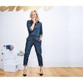 Шикарный джинсовый комбинезон от ТСМ Чибо (германия) размер 36 евро=42-44