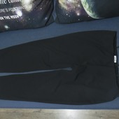 Стильные.Плотные черные на резинке штаны. Большой размер.Гарн.стан.