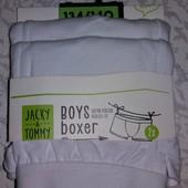 Набор боксеров из высококачественного органического хлопка, от Jacky & Tommy! раз.134/140; лот 1 наб