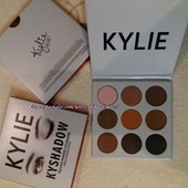 Лучший подарок!! Роскошный макияж с набором теней Kylie Kyshadow,9 цветов!