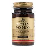 Solgar биотин 100 табл производство США IHerb