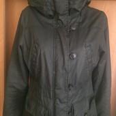 Куртка, парка, размер S-M. H&M. состояние отличное