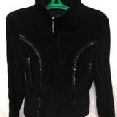 Натуральная кожаная(замш) куртка 42-44р