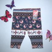 Модные капри! 1,5-2 г. (86-92 см)  Lupilu. Германия. Коллекция от Хайди Клум.