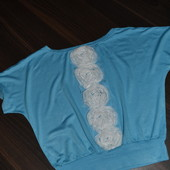 Нарядная футболочка Mone от Angel на 5-6 лет, рост указан 110 см