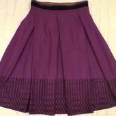 Стильная теплая юбка-клеш, s,m
