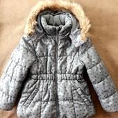 Куртка H&M на 4-5 лет, еврозима, холодная осень и шапочка в подарок
