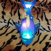 ☆Большая акула!!!Музыка, свет!!!Очень классная!!!☆