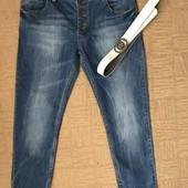 Супер джинсы бойфренды для пышной фигурки.Состояяние новых