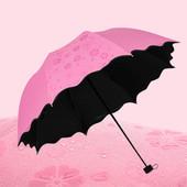 новинка!механический  зонт с проявляющимся рисунком при намокании! размер 97*66 см. на 8 спиц!!!