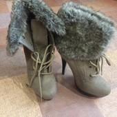Демисезонні чобітки,37 розмір