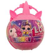 Новинка! Хит! Куколка Lol Surprise unicorn Единорог жемчужина, в коробке