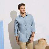 Livergy мужская стильная хлопковая рубашка Германия. Одна на выбор!