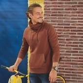 Livergy с начесом шикарная нежная толстовка пуловер худи Германия