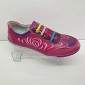Кожаные кроссовки р.39- стелька 25 см