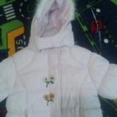 Продам демі курточку з доні,104-110