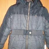Куртка, ранняя весна, размер 8 лет 128 см.Name it. состояние отличное