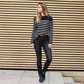 Стильный вязанный пуловер от TcmTchibo,  Германия! раз.евро 44/46; наш 50/52