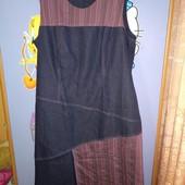 Платье футляр джинсовое состояние идеал