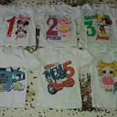 Классные футболочки для деток