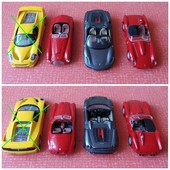 Коллекционная модель Ferrari + журнал/постер