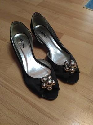 0585a91b2 Атласные открытые туфли Centro 38 размер купить - 20428397 ...