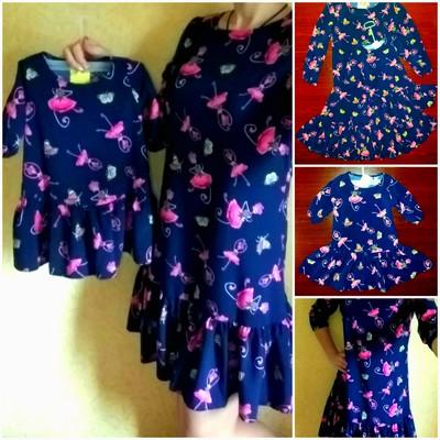 162e976dbd52 Family look Комплект платьев Мама и дочка или 2 дочки. Укрпочта при  получении.
