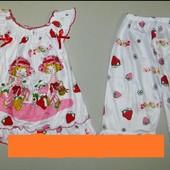 Очень красивые и яркие пижамки для девочек с персонажами мультфильмов.УП,НП при получении!